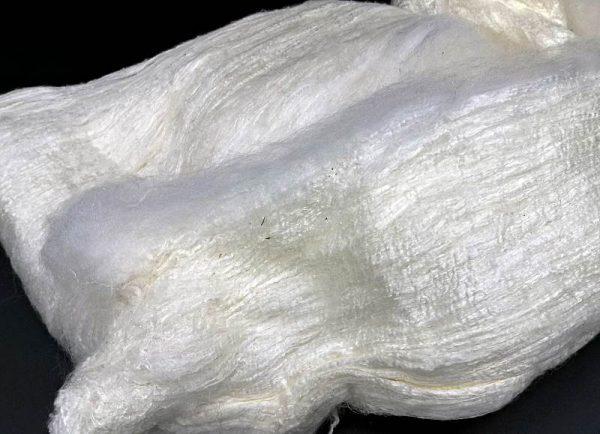 naturfarbenes Silksheet (weiß)
