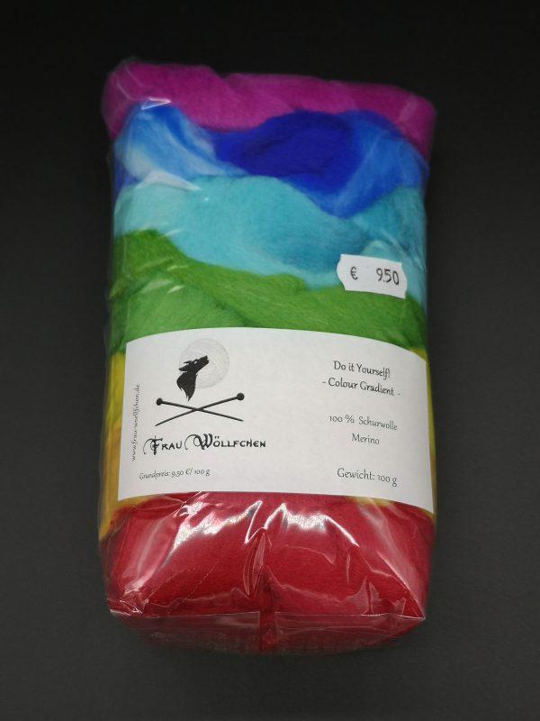 Farbverlauf in Regenbogenfarben
